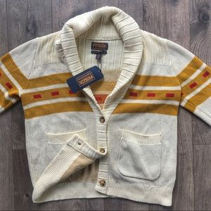 NWT Pendleton Portland Collection Shawl Cardigan
